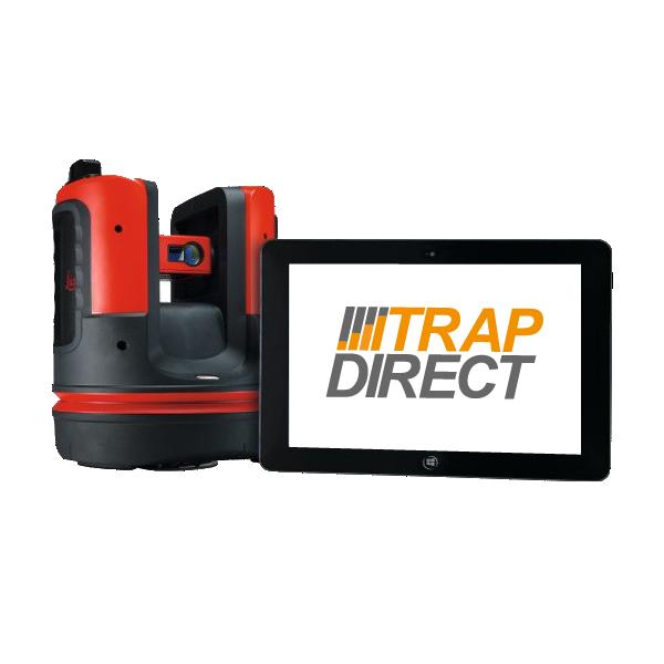 TrapDirect meet trappen met 3d apparatuur voor het beste resultaat.